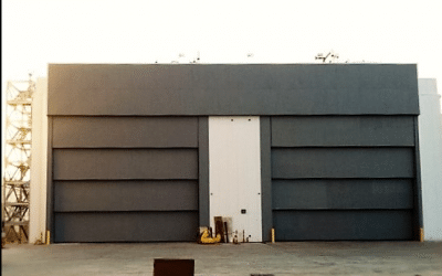 VERTICAL LIFT STEEL PANEL DOORS