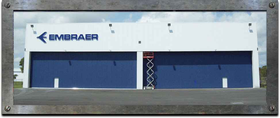 IDC - Hangar Doors - Steel Sliding Doors
