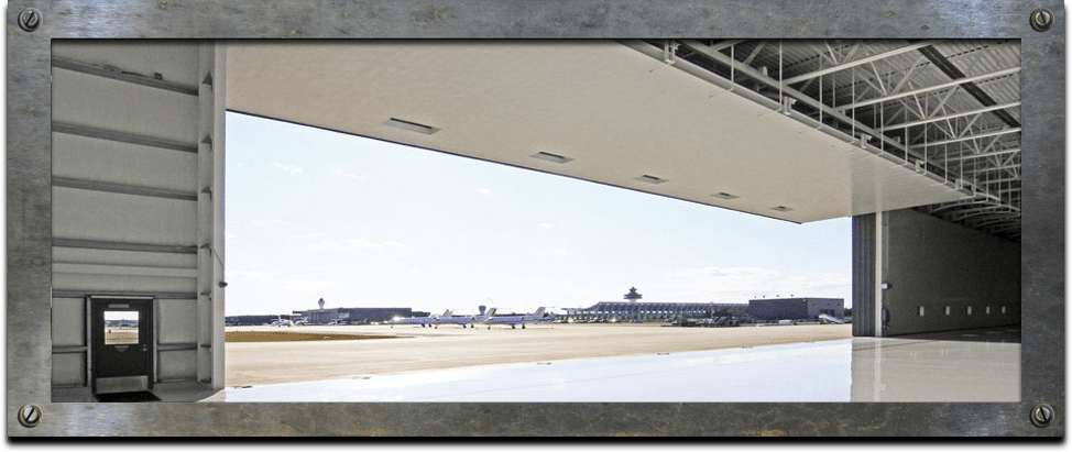 IDC - Hangar Doors - Tip-Up Canopy Doors